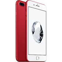 Apple iPhone 7 Plus, iOS 10, 5.5, 4G LTE, SIM Free, 256GB, (PRODUCT)RED