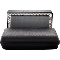 Bowers & Wilkins Travel Case for T7 Portable Wireless Bluetooth Speaker, Black