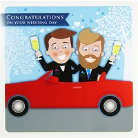 Saffron Cards and Gifts Mr & Mr Wedding Day Card