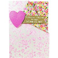 Paper Salad Special Friends Wedding Day Card