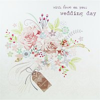 Cardmix With Love On Your Wedding Day Card