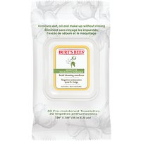 Burts Bees Sensitive Facial Cleansing Wipes, x 30