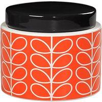 Orla Kiely Linear Stem Kitchen Storage Jar, Small