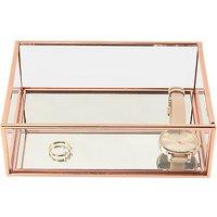 Stackers Mini Deep Open Jewellery Box, Rose Gold