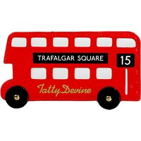 Tatty Devine London Bus Card Holder, Red