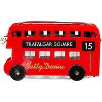 Tatty Devine London Bus Wash Bag, Red