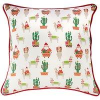little home at John Lewis Lima Llama Print Cushion