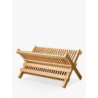 Croft Collection Beech Dish Drainer, Natural