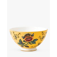 Wedgwood Wonderlust Tonquin Bowl, Yellow/Multi, Dia.11cm