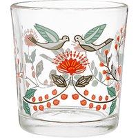 John Lewis Folklore Glass Votive Candle Holder