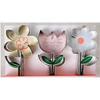 Meri Meri Flower Cookie Cutters, Set of 3
