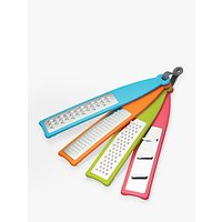 Colourworks Handheld Graters and Zesters, Set of 4, Assorted