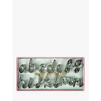 Meri Meri Alphabet Cookie Cutters, Set of 26