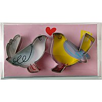 Meri Meri Love Birds Cookie Cutters, Set of 2