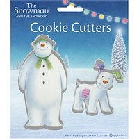 Creative Party Christmas Snowman and Snowdog Cookie Cutter Set