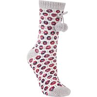 John Lewis Circle Knit Patterned Novelty Ankle Socks  Multi