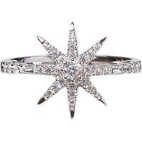CARAT* London Vega Stella Ring, Silver