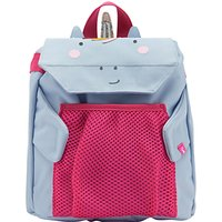 Little Joule Childrens Unicorn Rucksack, Lilac/Red
