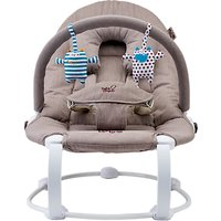 Bababing Lobo2 Little Monsters Baby Bouncer, Natural