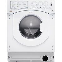 Hotpoint BHWD149 Aquarius Integrated Washer Dryer, 7kg Wash/5kg Dry Load, B Energy Rating, 1400rpm Spin, White
