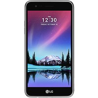 LG K4 Smartphone, Android, 5, 4G LTE, SIM Free, 8GB