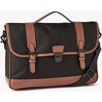 John Lewis Elevate 15 Laptop Briefcase, Black