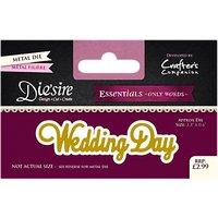Crafters Companion Essentials Wedding Day Die