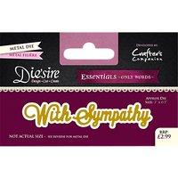 Crafters Companion Essentials Sympathy Die