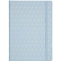 kikki.K A4 Bonded Leather Journal, Blue