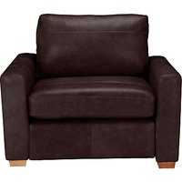 John Lewis Oliver Leather Armchair