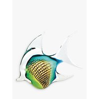 Svaja Annie Angel Fish Ornament, Green