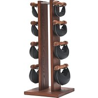 NOHrD by WaterRower Swing Bell Weights Tower Set, Rosewood