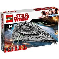 LEGO Star Wars The Last Jedi 75190 First Order Star Destroyer