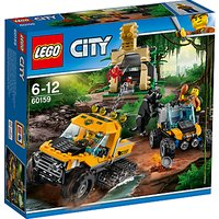 LEGO City 60159 Jungle Halftrack Mission
