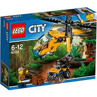 LEGO City 60158 Jungle Cargo Helicopter