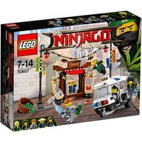 LEGO Ninjago 70607 City Chase