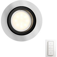 Philips Hue Milliskin Single Recessed Spotlight with Dimmer Switch