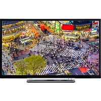 Toshiba 24D3753DB LED HD Ready 720p Smart TV/DVD Combi, 24 with Built-In Wi-Fi, Freeview HD & Freevi