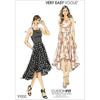 Vogue Very Easy Womens Dresses Sewing Pattern, 9252