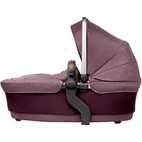 Silver Cross Wave Carrycot, Claret
