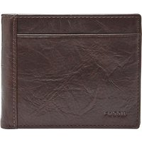 Fossil Neel Coin Pocket Wallet, Brown