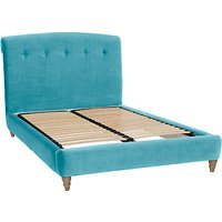 Peachy Bed Frame by Loaf at John Lewis in Clever Velvet, Super King Size