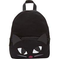 Lulu Guinness Kooky Cat Medium Backpack, Black