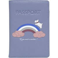 Radley Rainbow Leather Passport Cover