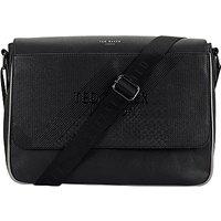 Ted Baker Airlift Emboss Messenger Bag, Black