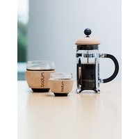 Bodum Pavina Coffee Glasses with Cork Band, 350ml, Set of 2