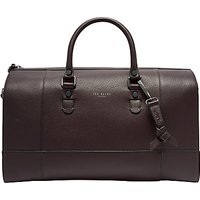 Ted Baker Panthea Leather Holdall, Purple