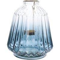 John Lewis Boutique Hotel Ombre Lantern, Blue