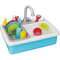 John Lewis & Partners Wash Up Kitchen Sink Playset