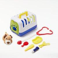 John Lewis My Pet Carry Case Vet Playset